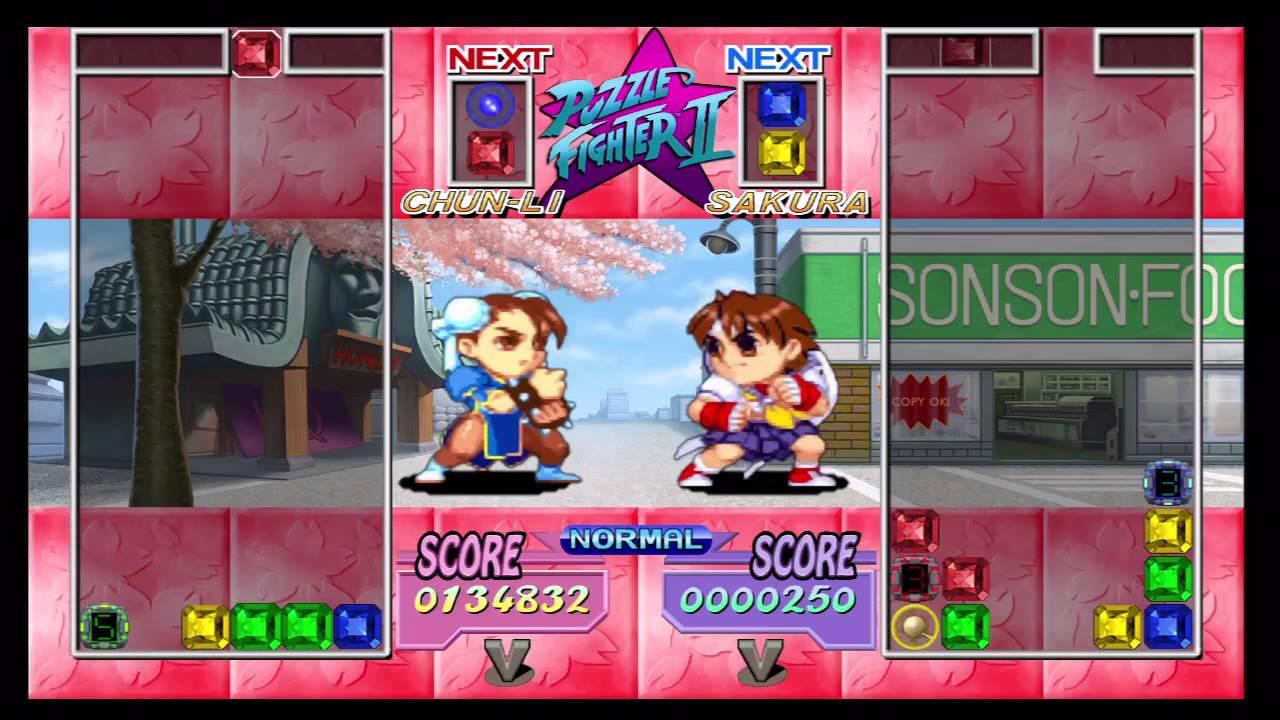 Super Puzzle Fighter Ii Turbo Hd Remix Chun Li
