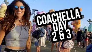 COACHELLA DAY 2-3 w/ LORDE & KENDRICK LAMAR!! (Lunchy Break)