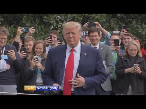 President Trump says articles of impeachment are part of 'witch hunt' - EWTN News Nightly