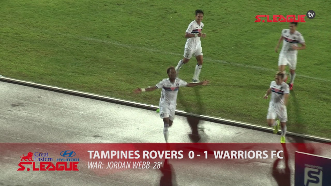 Great Eastern-Hyundai S.League: Tampines Rovers FC vs Warriors FC (1