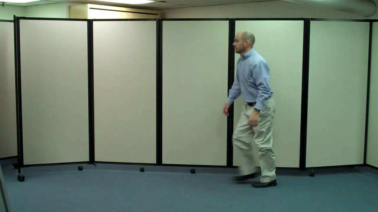 Partition Divider the room divider 360® accordion partitionversare - youtube