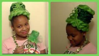 St Patrick Day Hair  Hat!