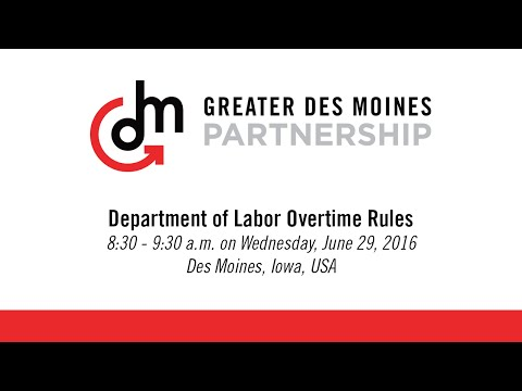 Presentation: Dept. of Labor Overtime Rule Changes