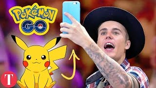10 Famous People Who Are ADDICTED To Pokemon Go
