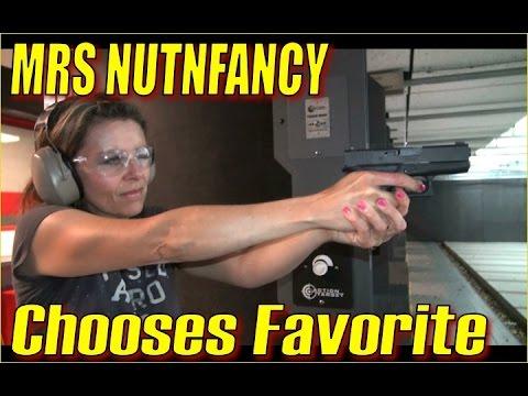 Glock 26 vs Glock 43:  Mrs Nutnfancy's Favorite After Shooting!
