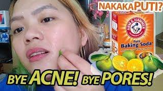 Gumamit ako Baking Soda with Calamansi for 7 days | Pumuti ba ako?