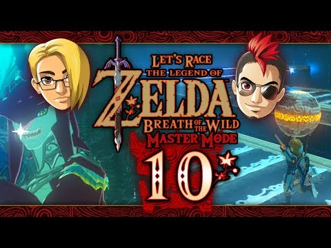 Let's Race: The Legend of Zelda: Breath of the Wild (Master Mode) - Part 10 -  Zora's Domain