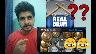 Video When a Desi guy download Real Drum App(Use headphone) download MP3, 3GP, MP4, WEBM, AVI, FLV Oktober 2018