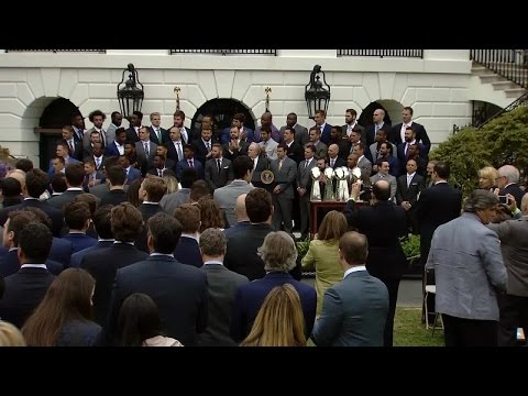 New England Patriots Honored at the White House
