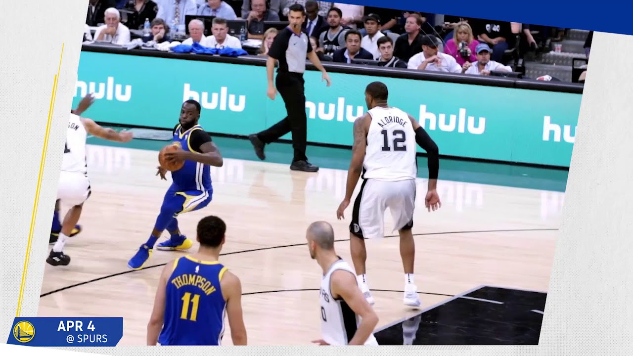 2017-18 Moments of the Year: Draymond Green vs San Antonio