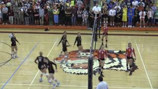 10.26.2016 Marshall Volleyball Sections v. Mankato West