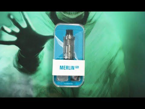Revue Atomiseur le Merlin RTA de chez Augvape