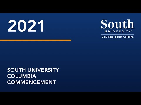 South University Columbia 2021 Commencement
