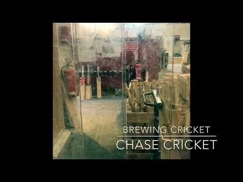 Chase Cricket Factory Tour