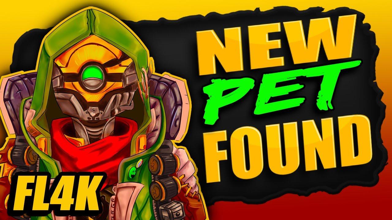 NEW!! PET Found For FL4K (New Skill Tree) Borderlands 3