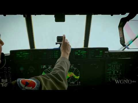 Hurricane Hunter Fly Through