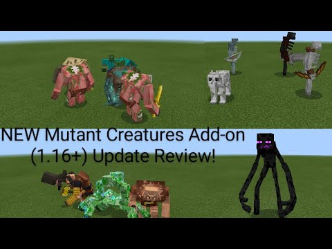 Minecraft Balance Battle - Mutant VS Mowzie's mobs