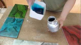 Do it yourself - How To MARBLE phosphorescent colors - Luis Lovon