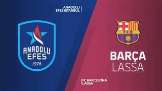 #EuroLeague #Playoff 2. Maç: Anadolu Efes - Barcelona Lassa