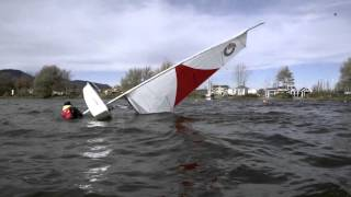 Capsizing and Recovery - Outsider sailboat