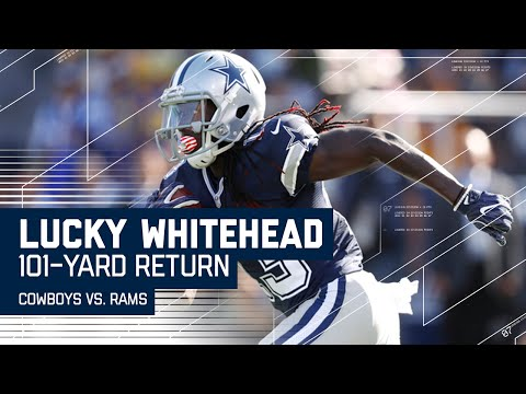 Cowboys Whitehead Returns Opening Kickoff for 101-Yard TD! (Preseason) | Cowboys vs. Rams | NFL
