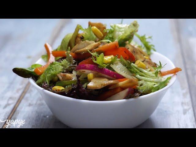 Tavuklu ve Sebzeli Salata Tarifi, Nasıl Yapılır?