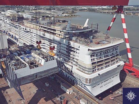 MSC Meraviglia: preview dai cantieri navali e tour virtuale
