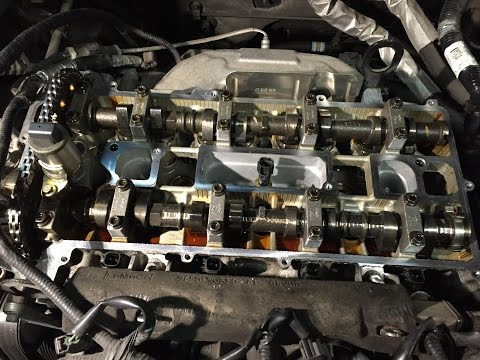 Ford Escape & Fusion 2.3L 2.5L DOHC Engines: Valve Cover Gas