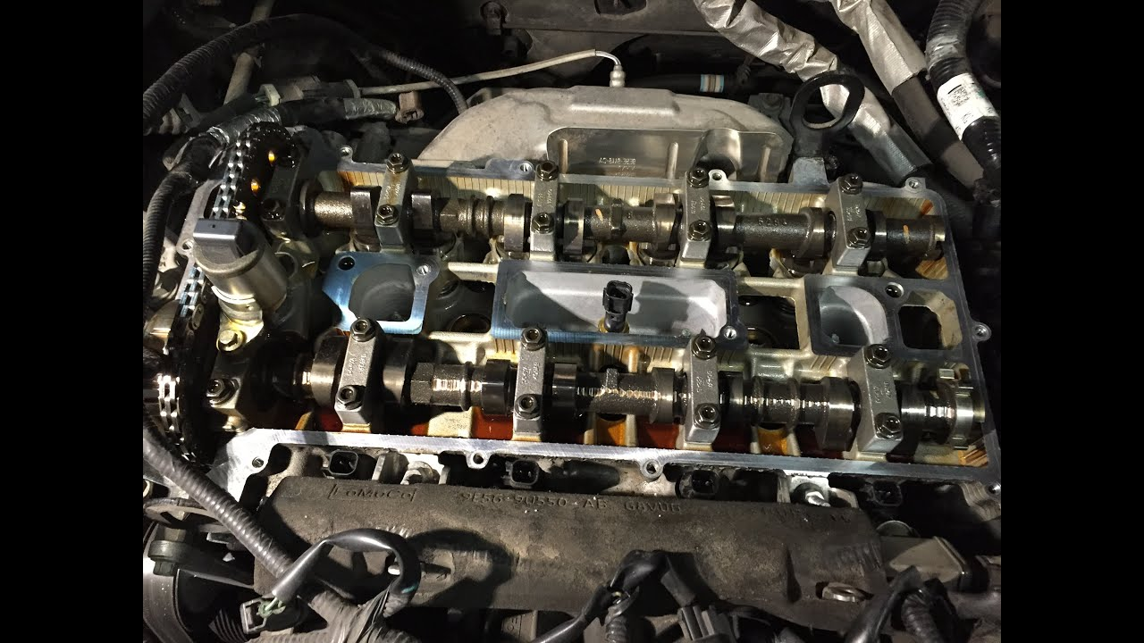 Ford Escape & Fusion 23L 25L DOHC Engines: Valve Cover Gasket Replacement  YouTube