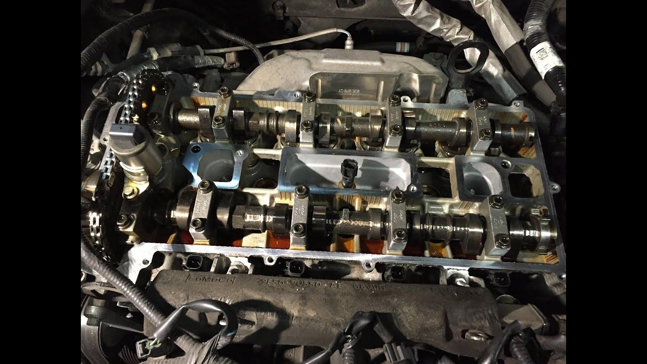 Ford Escape & Fusion 23L 25L DOHC Engines: Valve Cover