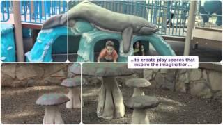 Playground Equipment - Custom Gfrc Sculpture - Gametime