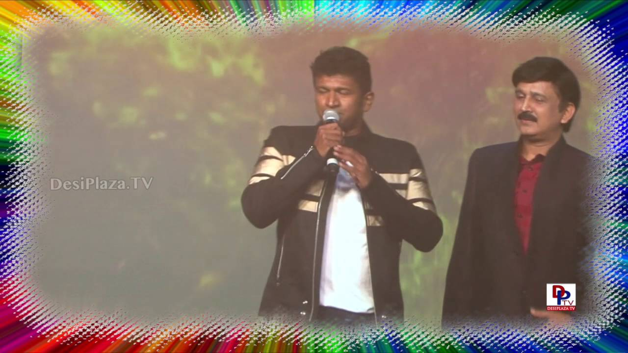 Powerstar Puneet Rajkumar dance and speech at 9th Akka Convention Atlantic City 2016
