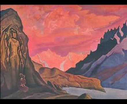 Nicholas Roerich Paintings - The Call
