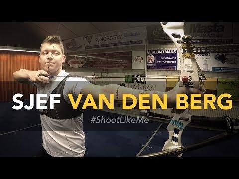 Sjef van den Berg: Step-by-step shot routine | #ShootLikeMe Diary