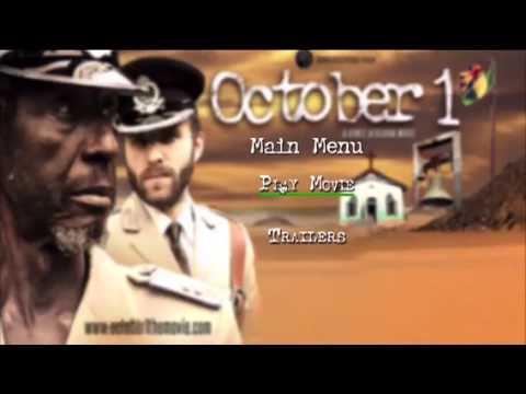 Original DVD of multi award winning movie October 1 by Kunle