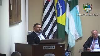 15ª Sessão Ordinária - Vereador Walmir Chaveiro