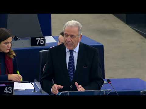 Remarks by Commissioner Avramopoulos at the EP Plenary on Schengen Information System (SIS)