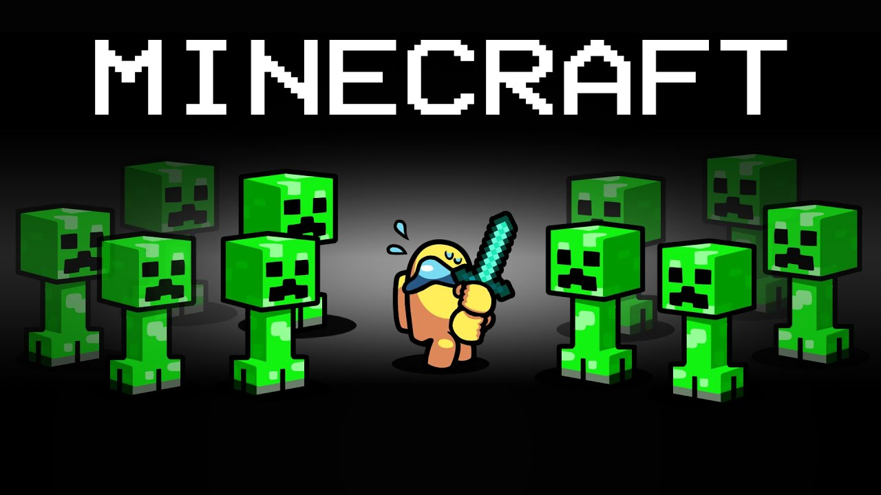 MINECRAFT Imposter Role in Among Us...