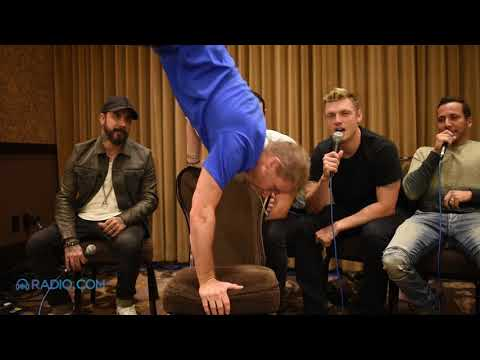 Chippendales & Magic Mike Challenge Backstreet Boys to a Dance-Off