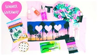 SUMMER Giveaway + 15K♥ | BeautybyBlaire [Closed] Thumbnail