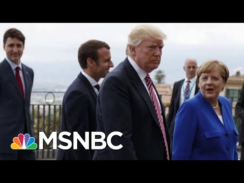 Trump Slams Macron For 'Insulting' NATO Comments | Morning Joe | MSNBC