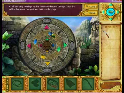 Mystery Age: The Imperial Staff (Second Totem Puzzle Solution)