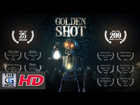 "**Award Winning** CGI 3D Animated Short  Film:  ""Golden Shot""  - by Gökalp Gönen"