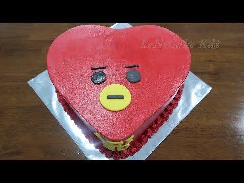 Happi Birthday Cake Tata BT21