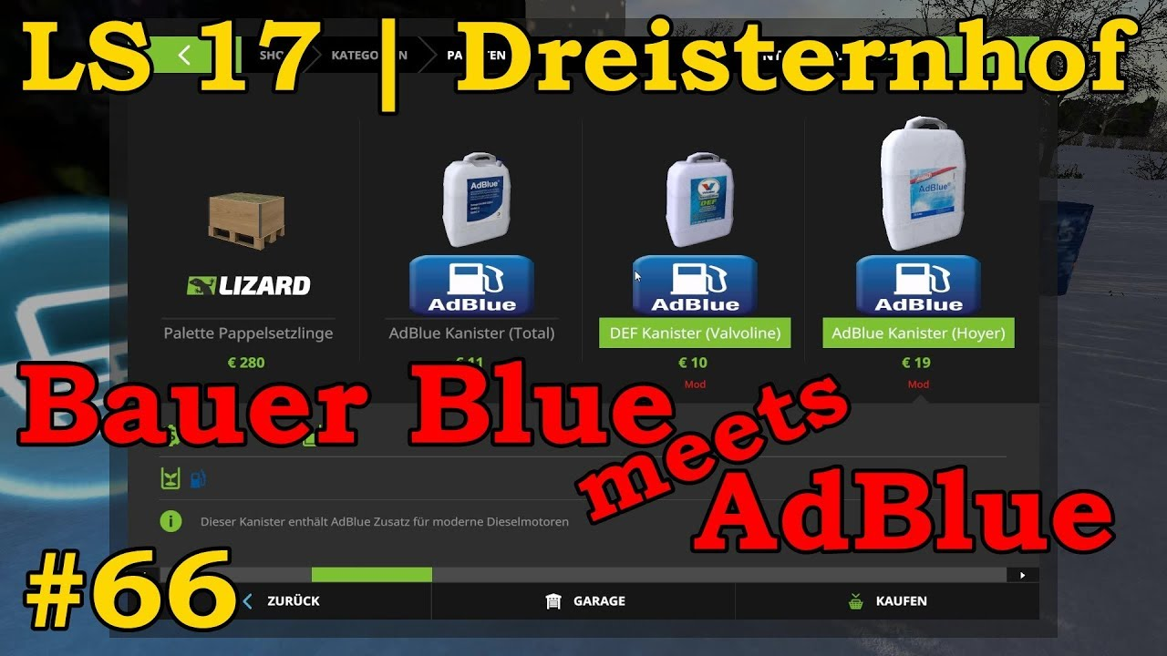 ls 17 dreisternhof jahreszeiten 66 bauer blue meets. Black Bedroom Furniture Sets. Home Design Ideas