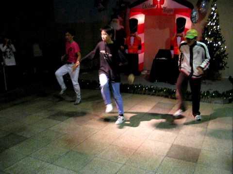 Hsinchu Toastmasters Club Hsinchu Funkadelic Beat Mix Dance Show in NCTU FSA X'mas Party