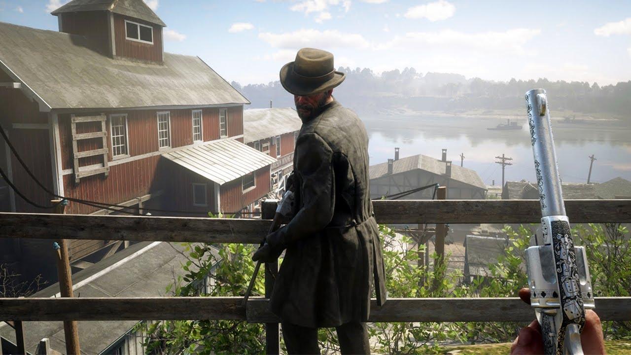 Red Dead Redemption 2 PC 60FPS - First Person Brutal Gameplay Vol. 48 (Euphoria Ragdolls Mod)