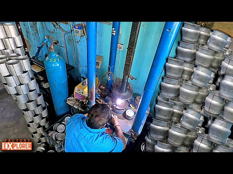 HOW? Stainless Steel Vessels are made? | Factory Explorer
