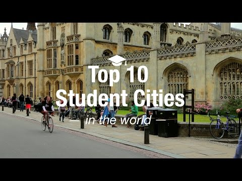 Top 10 Student Cities in the World
