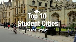 Top 10 Student Cities in the World thumbnail